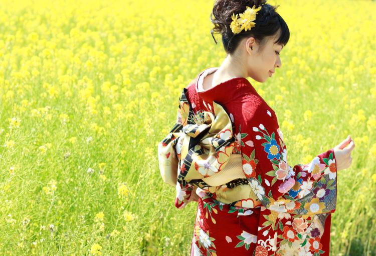 Traditional clothes in Japan